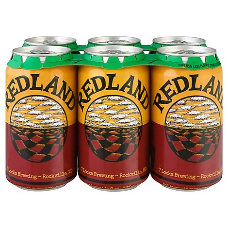 7 Locks Redland Lager In Cans - 6-12 Fl. Oz.