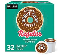 The Original Donut Shop Coffee K Cup Pods Medium Roast Regular Value Pack - 32-0.39 Oz