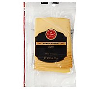 Primo Taglio Cheese Gouda Smoked Sliced - 7.5 Oz