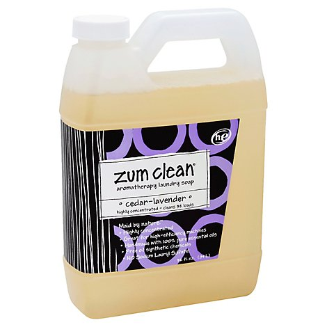 Zum Clean Laundry Soap 32 Oz Cedar Lavender - 32 Fl. Oz.