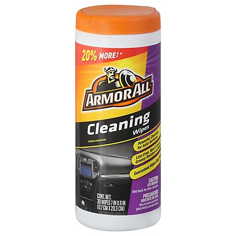 Cleaning Wipes - 30 Count