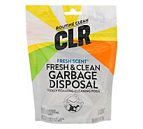 CLR Garbage Disposal Foaming Cleaner + Freshener Clean Scent Pouch - 5 Count
