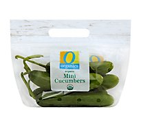 O Organics Cucumbers Mini - 16 Oz