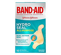 Bandaid All Purpose Hydro Seal - 10 Count