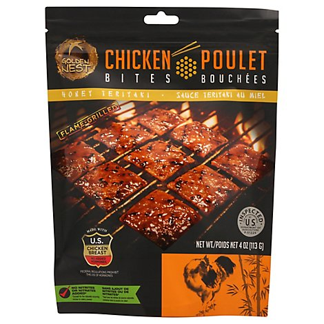Healthee Bites Chicken Honey Teriyaki - 4 Oz