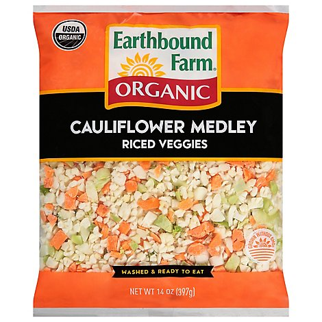 Earthbound Farms Rice Cauliflower Medley Organic - 14 Oz