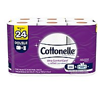 Cottonelle Ultra ComfortCare Bathroom Tissue Double Roll 2 Ply - 12 Roll