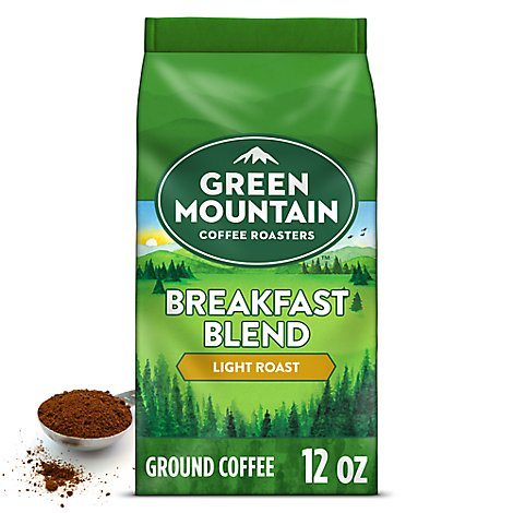 Green Mountain Coffee Roasters Coffee Ground Light Roast Breakfast Blend - 12 Oz