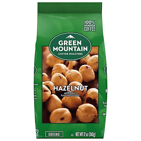 Green Mtn Hazelnut Coffee - 12 Oz