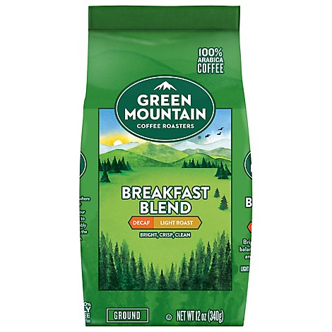 Gmc Breakfast Blend Decaf Gr - 12 Oz