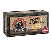 Kodiak Cakes Power Waffles Chocolate Chip 8 Count - 10.72 Oz