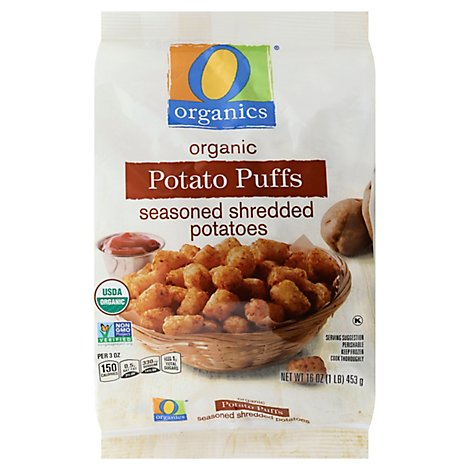 O Organics Potato Puff Original - 16 Oz