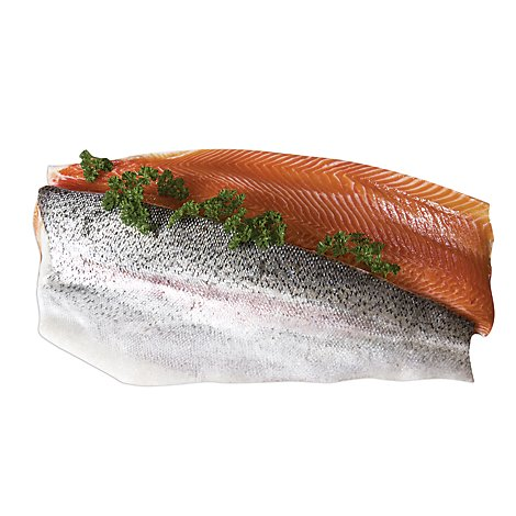 Seafood Service Counter Steelhead Portions Minimum 5 Oz Fresh