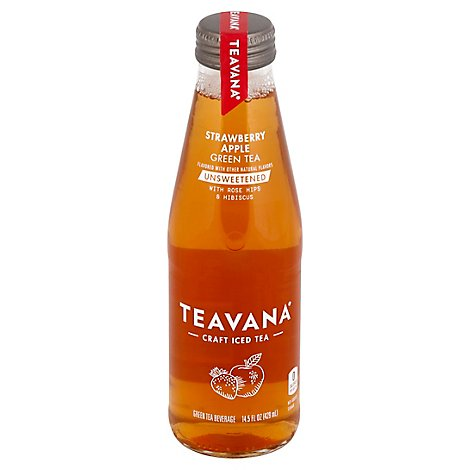 Teavana Strawberry Apple Green Unsweetened Tea - 14.5 Fl. Oz.