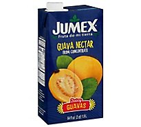 Jumex Nectar From Concentrate Guava Carton - 64 Fl. Oz.
