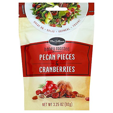Mrs Cubbisons Honey Roasted Cranberries And Pecans Salad Topping 3.25 Oz - 3.25 Oz