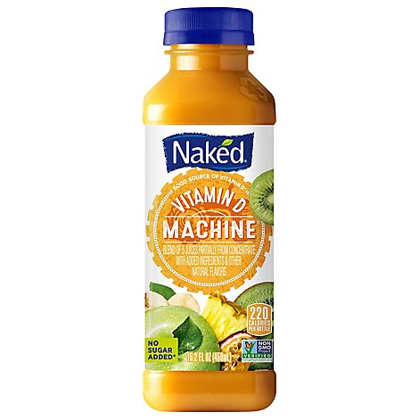 Naked Juice Gold Machine Vitamin D - 15.2 Fl. Oz.