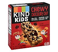KIND Kids Bar Granola Chewy Chocolate Chip Box - 4.86 Oz