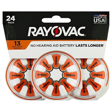 Rayovac Hab Size 13 - 24 Count
