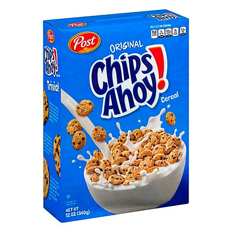 Chips Ahoy! Cereal Box - 12 Oz