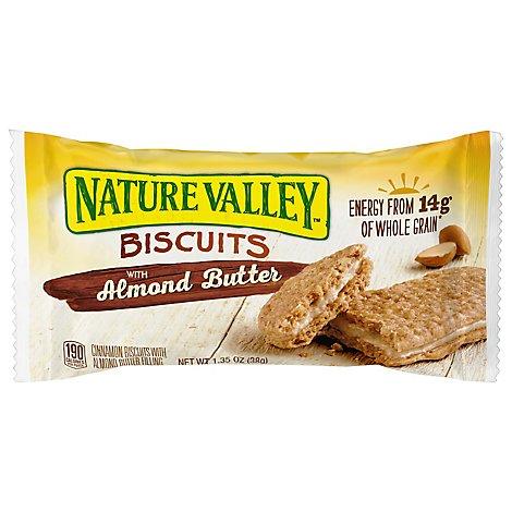 Nature Valley Almond Butter Biscuits - 1.35Oz