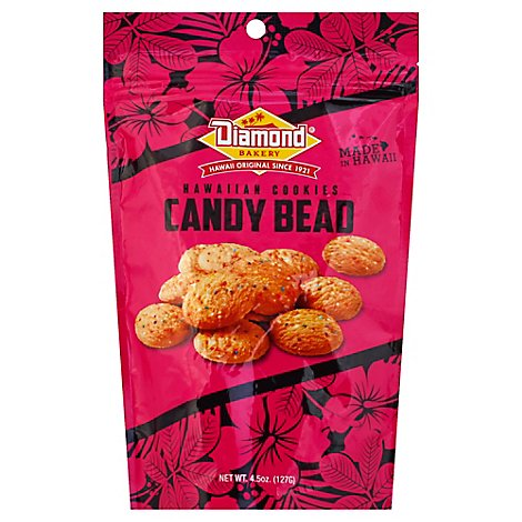 Diamond Bakery Hawaiian Cookies Candy Bead - 4.5 Oz