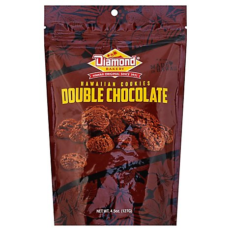 Diamond Bakery Hawaiian Cookies Double Chocolate - 4.5 Oz