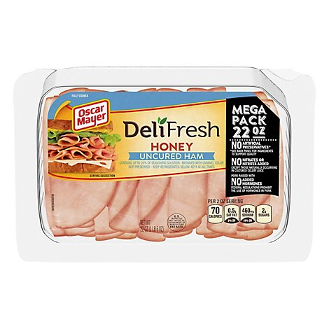 Oscar Mayer Deli Fresh Ham Honey Mega Pack - 22 Oz