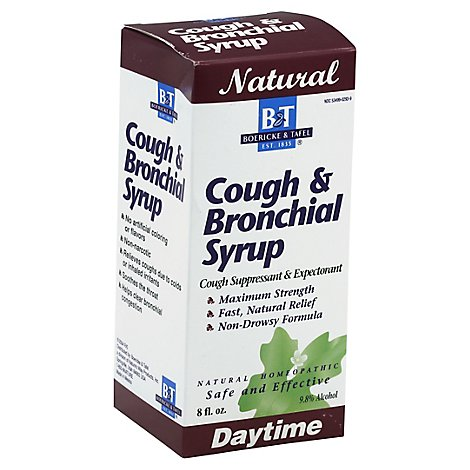 Natures W B&T Syrupcough & Brnchl 8oz Dt - 8 Oz