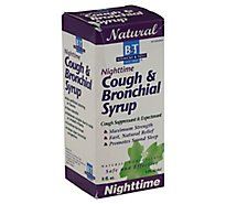 Natures W B&T Syrup Cough & Brnchl 8oz Nt - 8 Oz
