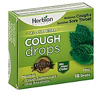 Herbion N Cough Drop Mint - 18 Piece