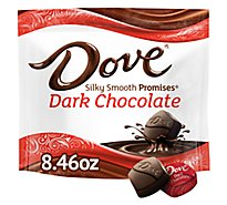 Dove Promises Dark Chocolate Candy 8.46 Oz
