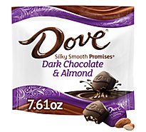 DOVE PROMISES Candy Dark Chocolate & Almond Mothers Day - 7.61 Oz