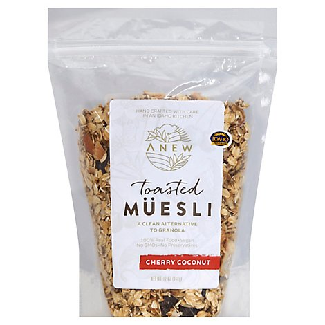 Anew Cherry Coconut Toasted Muesli - 12 Oz