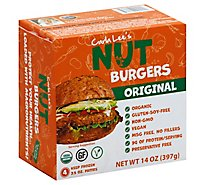 Carla Lees Nut Burgers Original 4 Count - 14 Oz