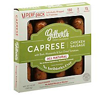 Gilberts Chicken Sausage Caprese - 10 Oz