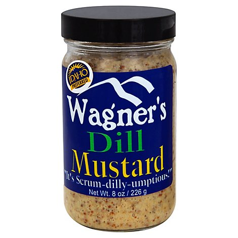 Wagners Dill Mustard - 8 Oz