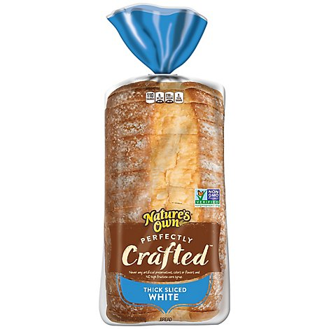 Natures Own Perfectly Crafted Thick White - 22 Oz