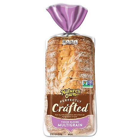 Natures Own Perfectly Crafted Thick Multigrain - 22 Oz