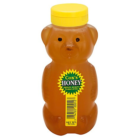 Coxs Honey Bear - 12 Oz
