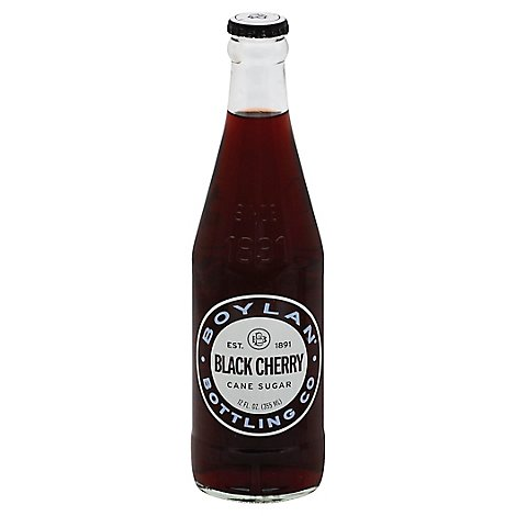 Boylans Black Cherry Soda - 12 Fl. Oz.