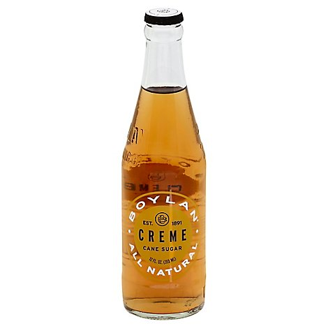 Boylan Soda Cream Natural - 12 Fl. Oz.