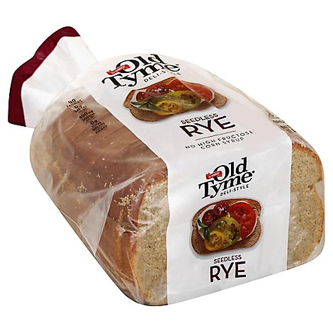 Schmidt Old Tyme Seedless Rye Bread - 16 Oz