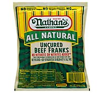 Nathans All Natural Beef Franks - 10 Oz