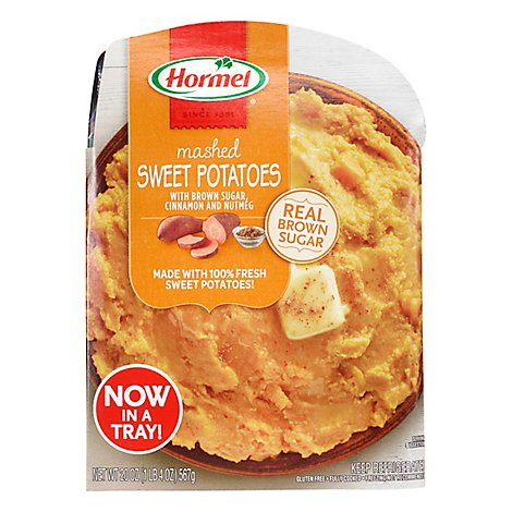 Hormel Tray Mashed Sweet Potatoes - 20 Oz