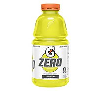 Gatorade Zero Thirst Quencher Lemon Lime Bottle- 32 fl oz
