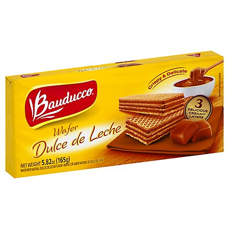 Bauducco Wafers Dulce De Leche Select - 5.82 Oz