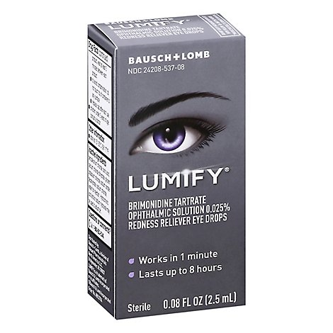 Lumify Eye Drops - 0.08 Fl. Oz.