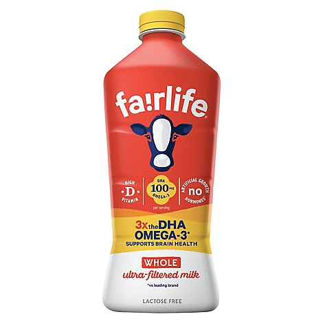 Fairlife Superkids Whole Milk Non-Refillable Plastic Other Bottle - 52 Fl. Oz.