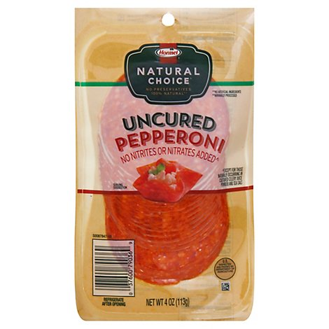 Hormel Natural Choice Sandwich Pepperoni - 4 Oz